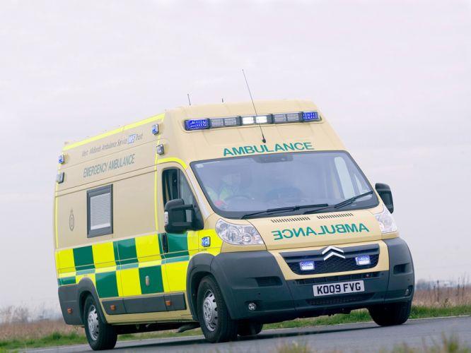 2006 Citroen Relay Ambulance emergency wallpaper