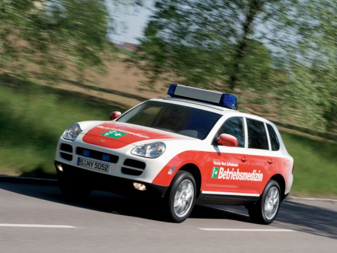 2007 Porsche Cayenne Ambulance 955 emergency wallpaper