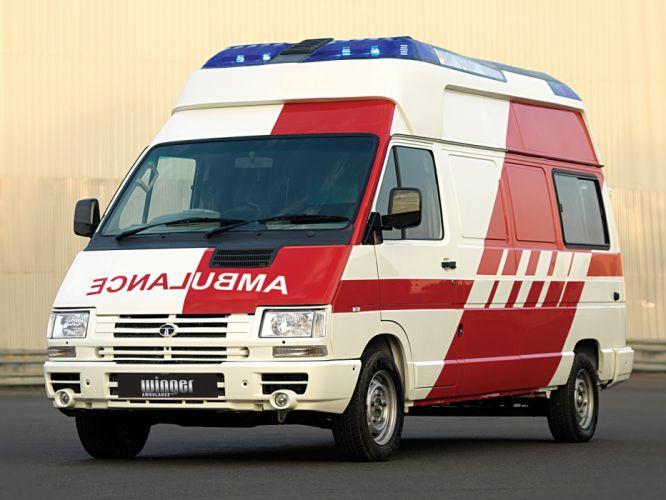 2007 Tata Winger Ambulance emergency wallpaper