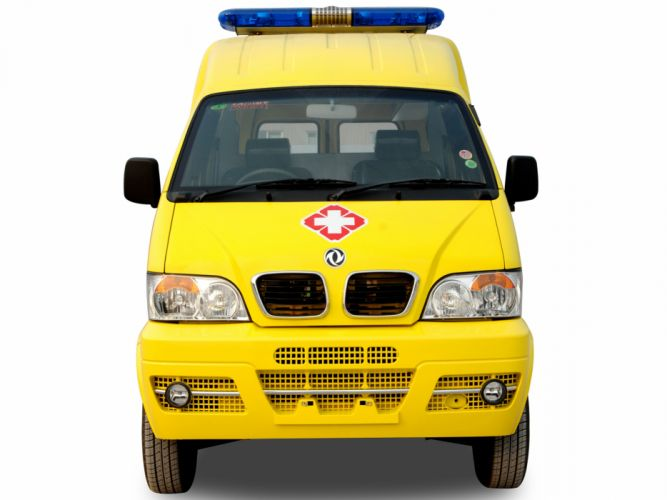 2008 DongFeng Mini MPV Ambulance EQ6410LF emergency gd wallpaper