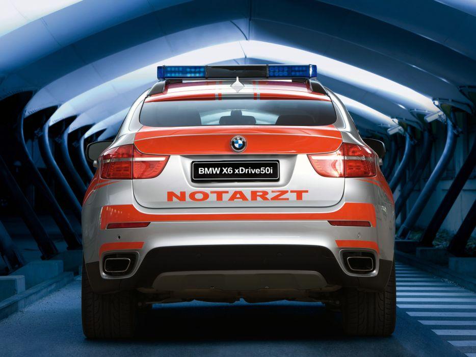 2009 BMW X6 xDrive50i Notarzt Do71 ambulance emergency   gg wallpaper