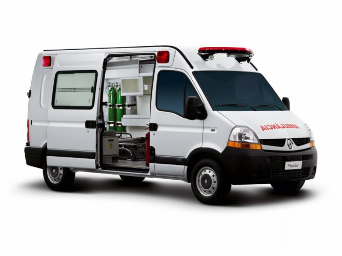 2009 Renault Master High Roof Ambulancia BR-spec emergency ambulance wallpaper