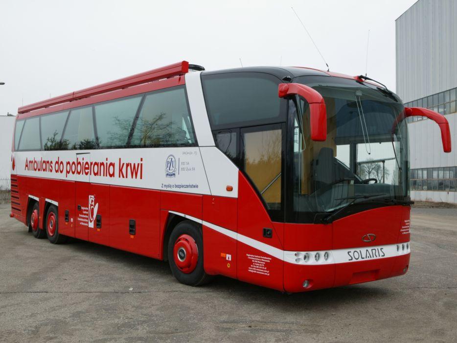 2009 Solaris Vacanza 13 Ambulans do pobierania krwi bus emergency ambulance   g wallpaper
