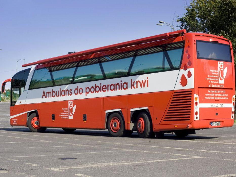 2009 Solaris Vacanza 13 Ambulans do pobierania krwi bus emergency ambulance wallpaper
