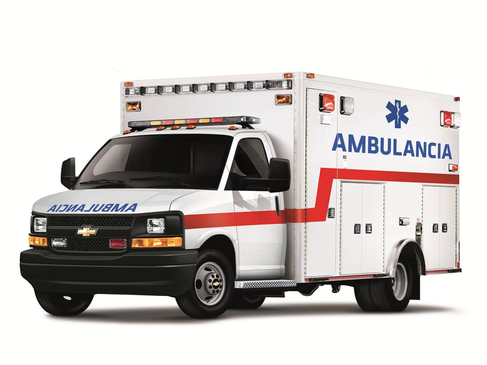 2010 Chevrolet Express Cutaway Ambulancia Emergency
