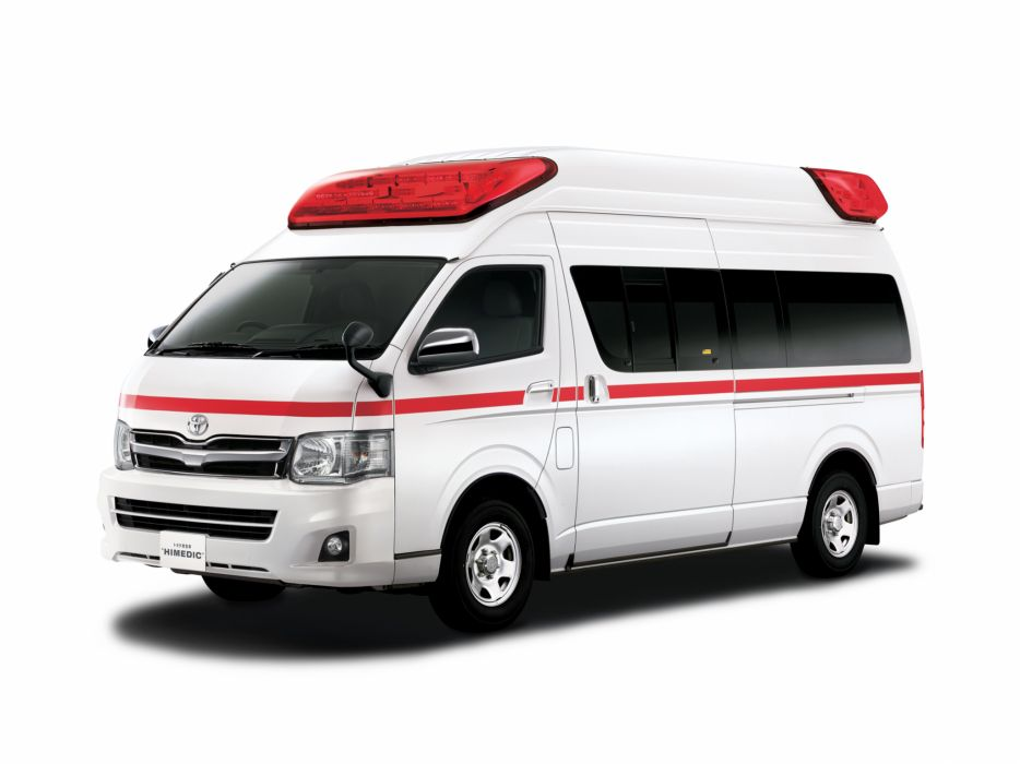 2010 Toyota Hiace Himedic JP-spec ambulance emergency wallpaper
