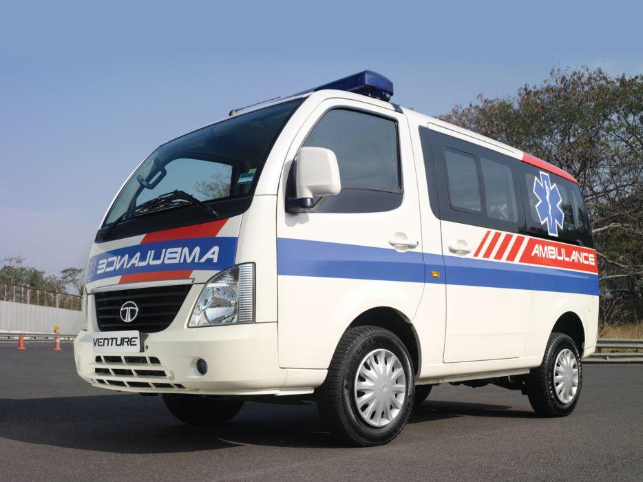 2010 Tata Venture Ambulance emergency wallpaper