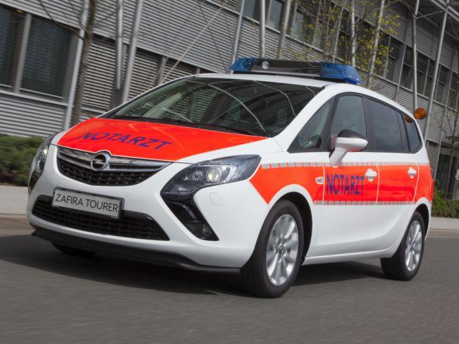 2012 Opel Zafira Tourer Notarzt C ambulance emergency wallpaper