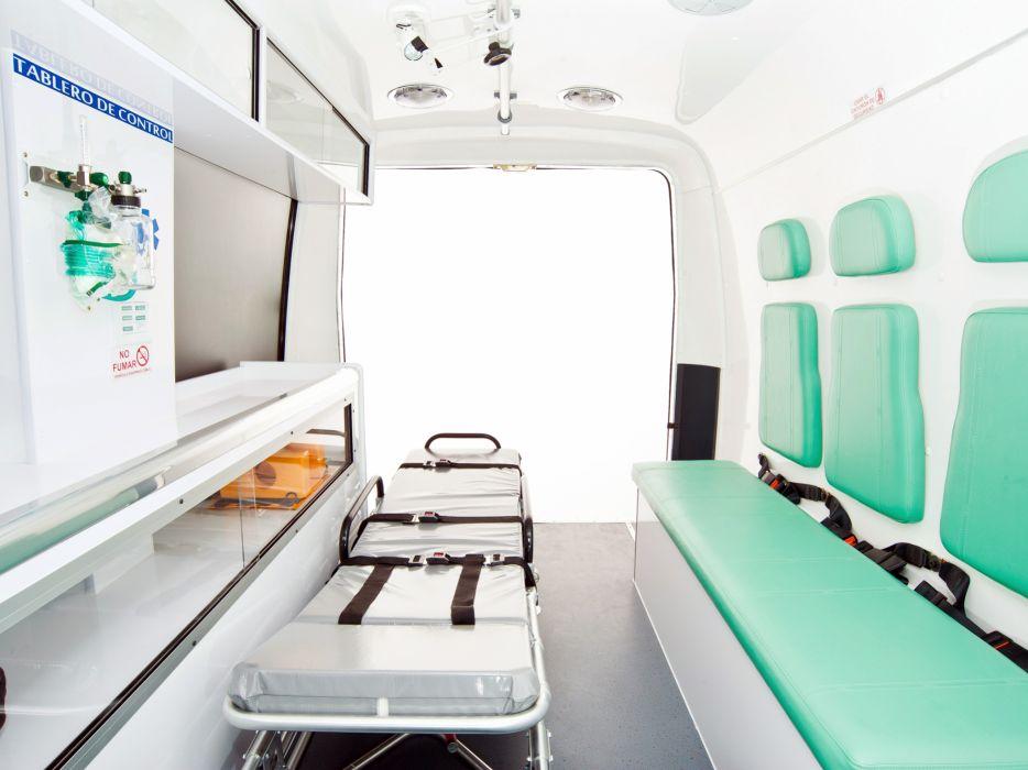 2012 Volare V5 Ambulancia emergency ambulance v-5 interior         f wallpaper