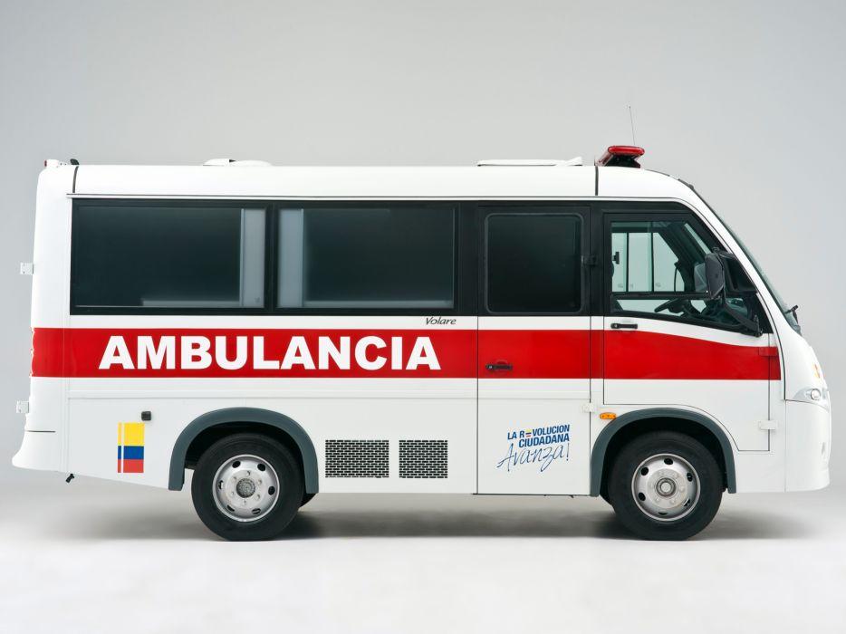 2012 Volare V5 Ambulancia emergency ambulance v-5   f wallpaper