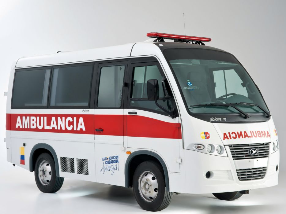 2012 Volare V5 Ambulancia emergency ambulance v-5 wallpaper