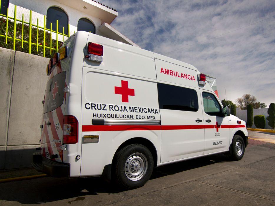 2013 Nissan NV2500 HD High Roof Ambulancia emergency ambulance wallpaper