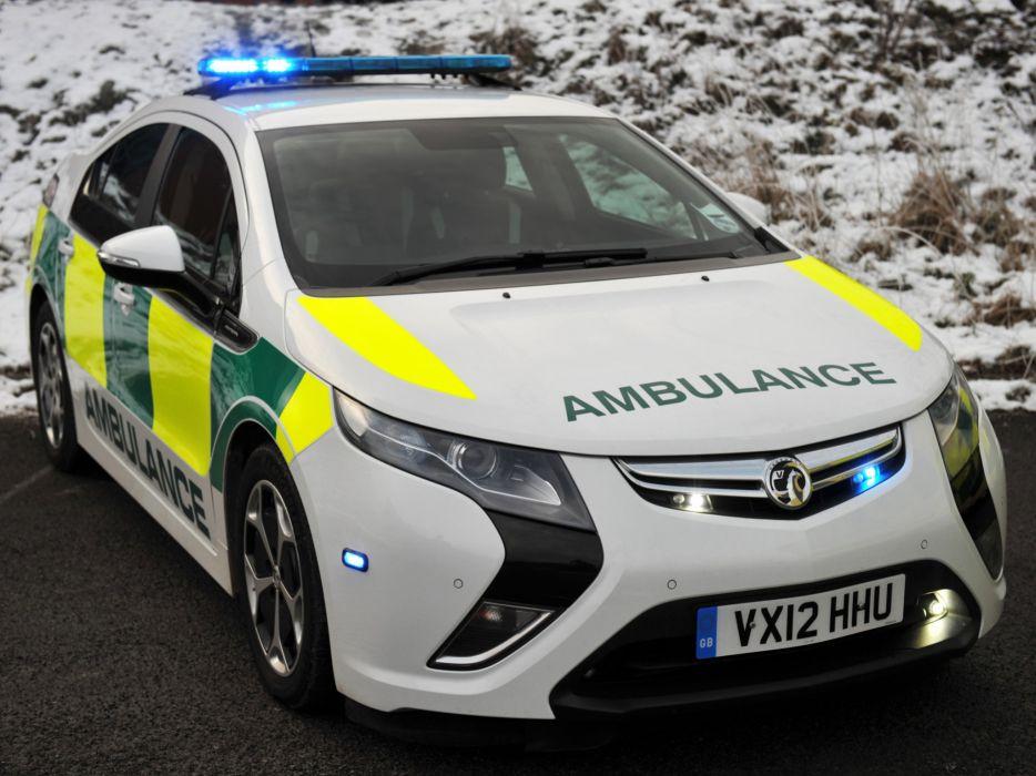 2013 Vauxhall Ampera Ambulance emergency wallpaper