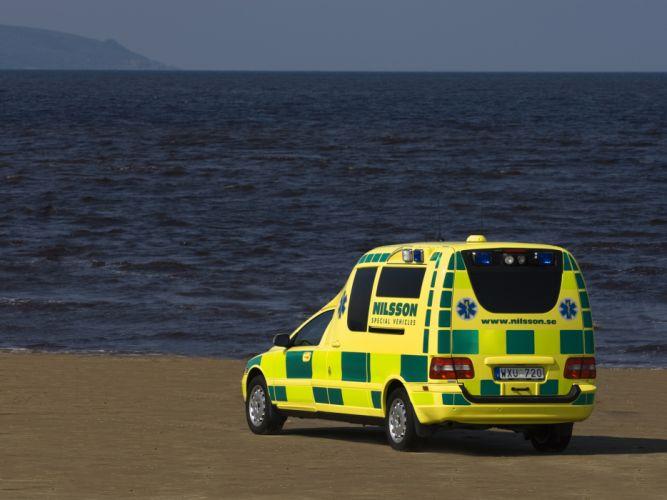 Nilsson Volvo V70 Ambulance emergency wallpaper