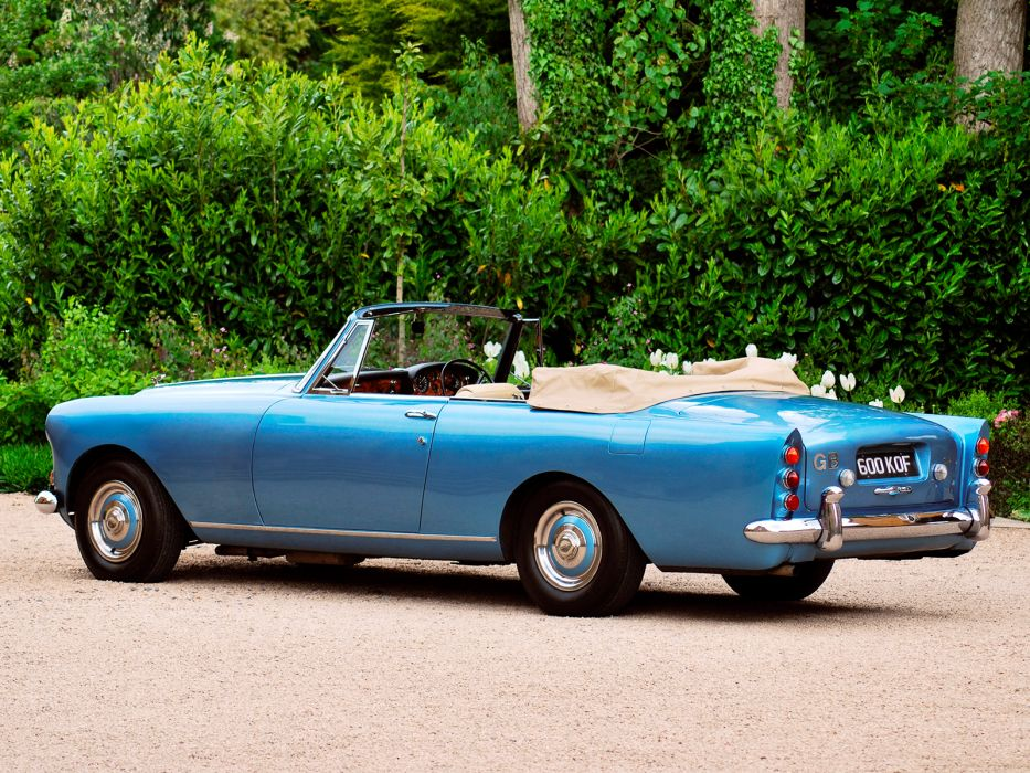 1962 Bentley S3 Continental Convertible by Mulliner Park Ward luxury classic s-3 wallpaper