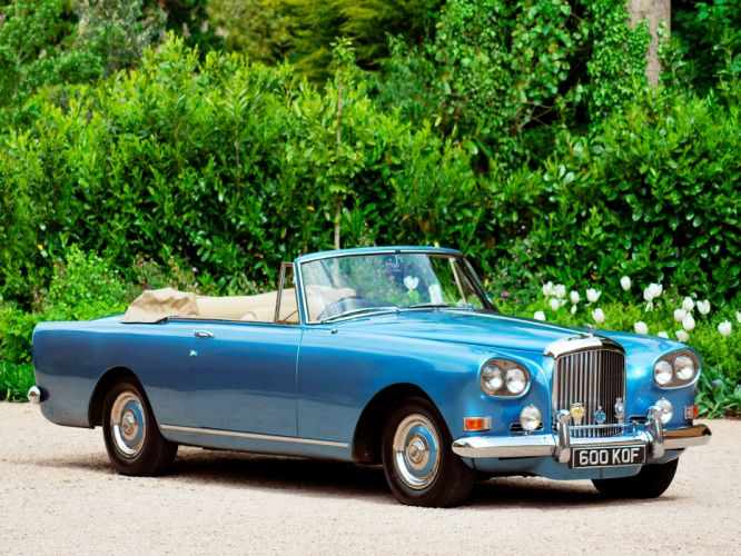 1962 Bentley S3 Continental Convertible by Mulliner Park Ward luxury classic s-3 d wallpaper