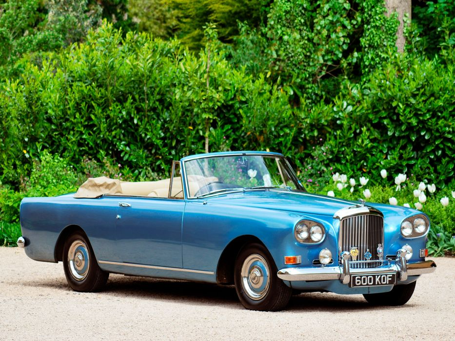 1962 Bentley S3 Continental Convertible By Mulliner Park Ward Luxury Classic S 3 D Wallpaper