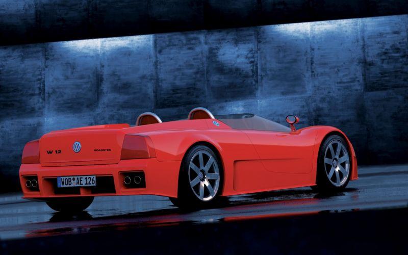 1998 Volkswagen W12 Roadster supercar fg wallpaper