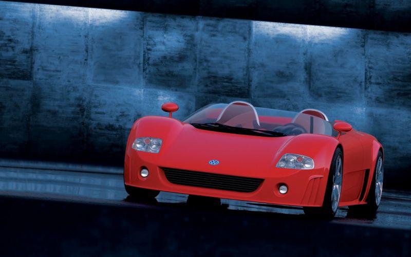 1998 Volkswagen W12 Roadster supercar wallpaper