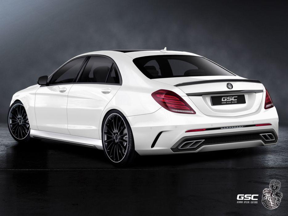 2013 German Special Customs Mercedes Benz S-Klasse tuning     f wallpaper