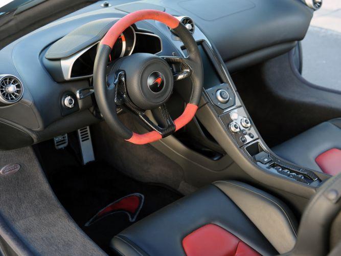 2013 Hennessey McLaren MP4-12C HPE700 supercar interior g wallpaper
