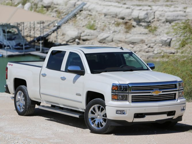 2014 Chevrolet Silverado High Country Crew Cab pickup h wallpaper