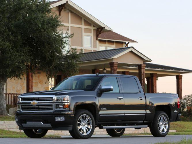 2014 Chevrolet Silverado High Country Crew Cab pickup h wallpaper