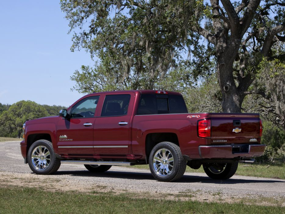 2014 Chevrolet Silverado High Country Crew Cab pickup   f wallpaper