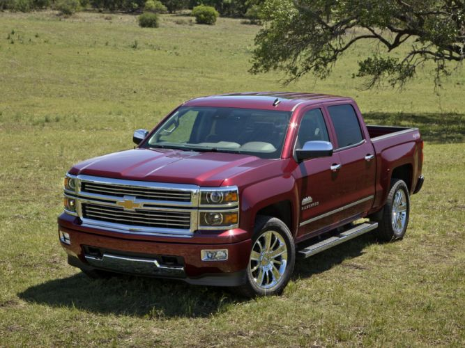 2014 Chevrolet Silverado High Country Crew Cab pickup n wallpaper