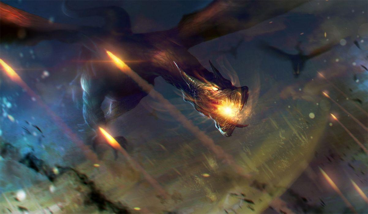 Dragon Flight wallpaper