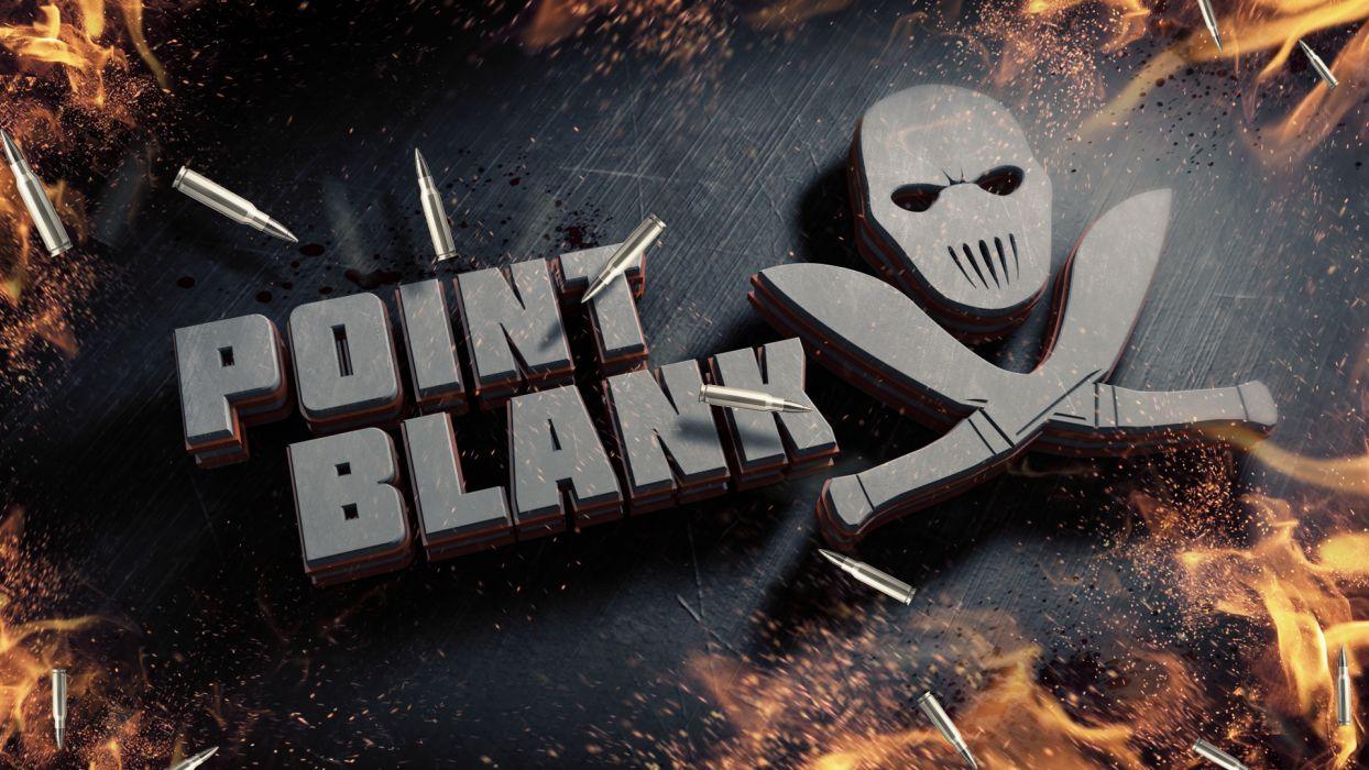 Point Blank Fire Logo Emblem Game wallpaper