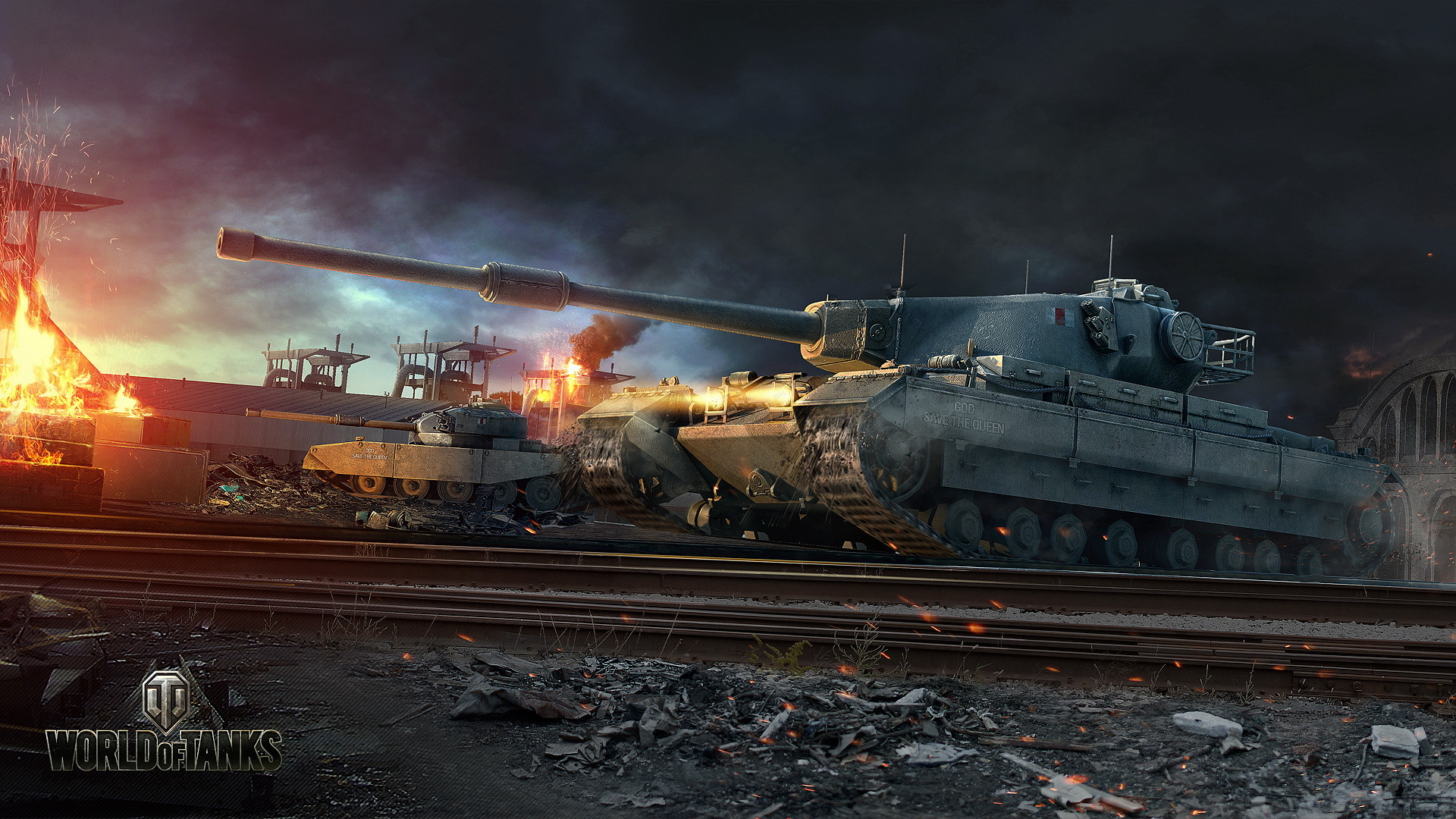 world of tanks tank railroas fv4202 game military