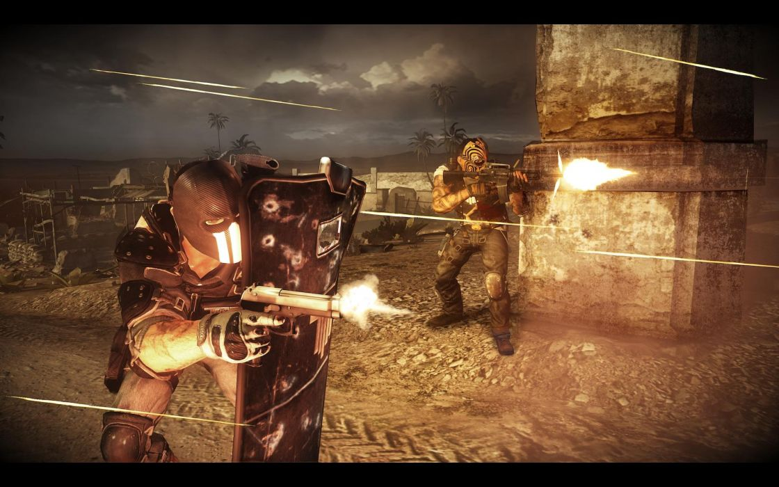 Army of Two Devils Cartel screenshot battle warrior     g wallpaper