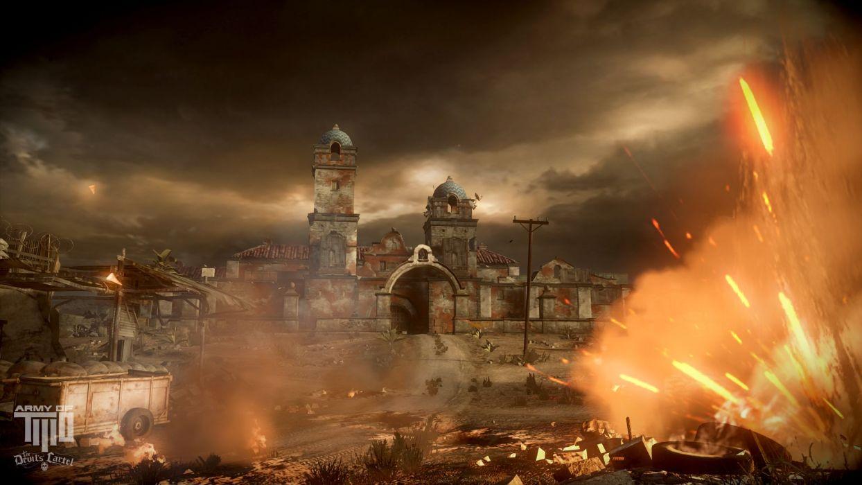 Army of Two Devils Cartel screenshot battle warrior     b wallpaper