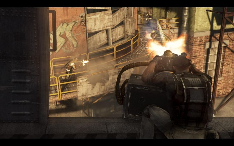 Army of Two Devils Cartel screenshot battle warrior f wallpaper