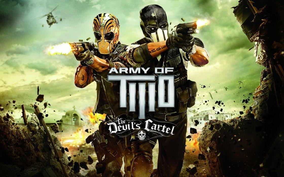 Army of Two Devils Cartel screenshot warrior  g wallpaper