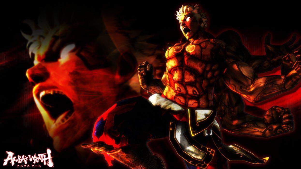 Asuras Wrath fantasy warrior           d wallpaper
