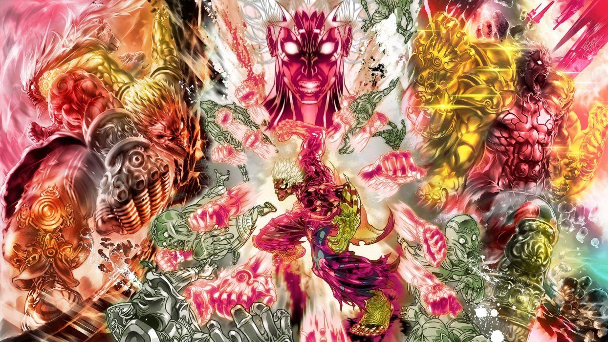 Asuras Wrath fantasy warrior          h wallpaper