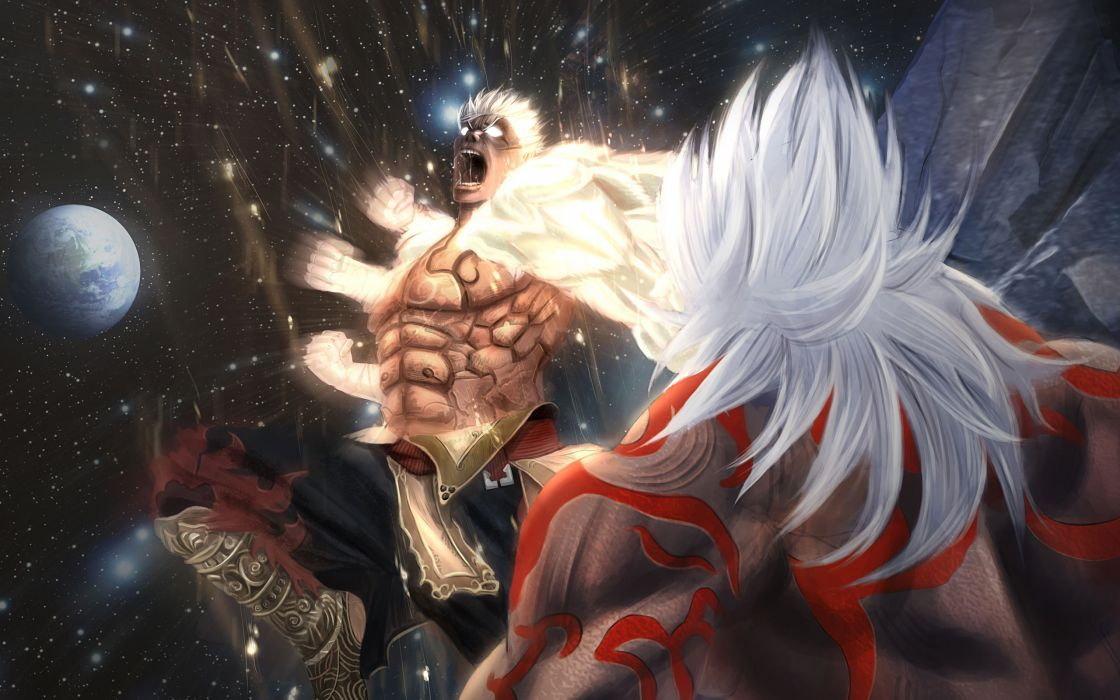 Asuras Wrath fantasy warrior battle     h wallpaper