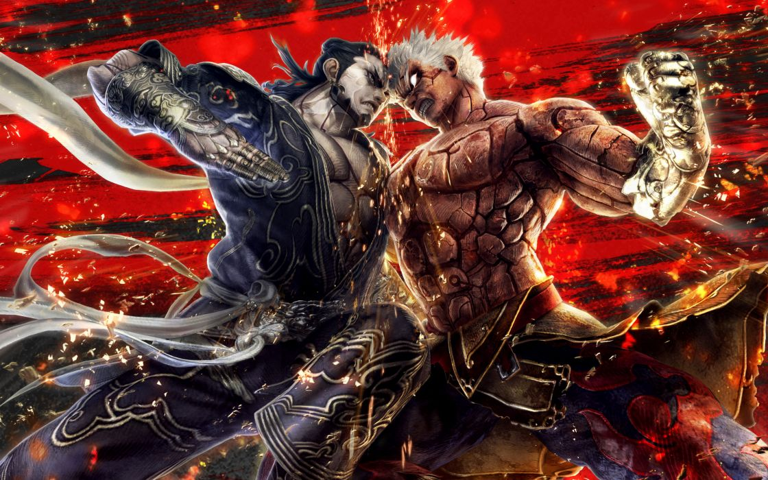 Asuras Wrath fantasy warrior battle          g wallpaper