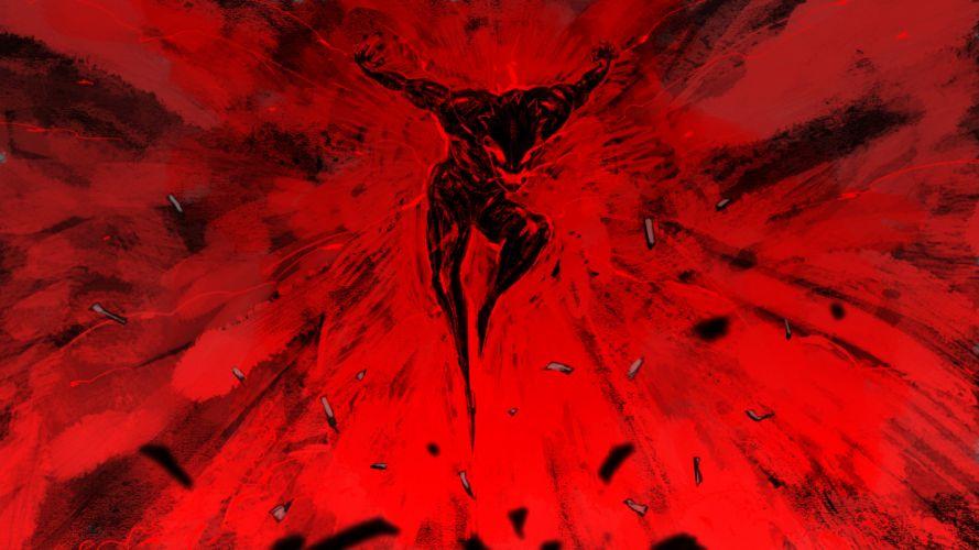 Asuras Wrath fantasy warrior dark demon f wallpaper