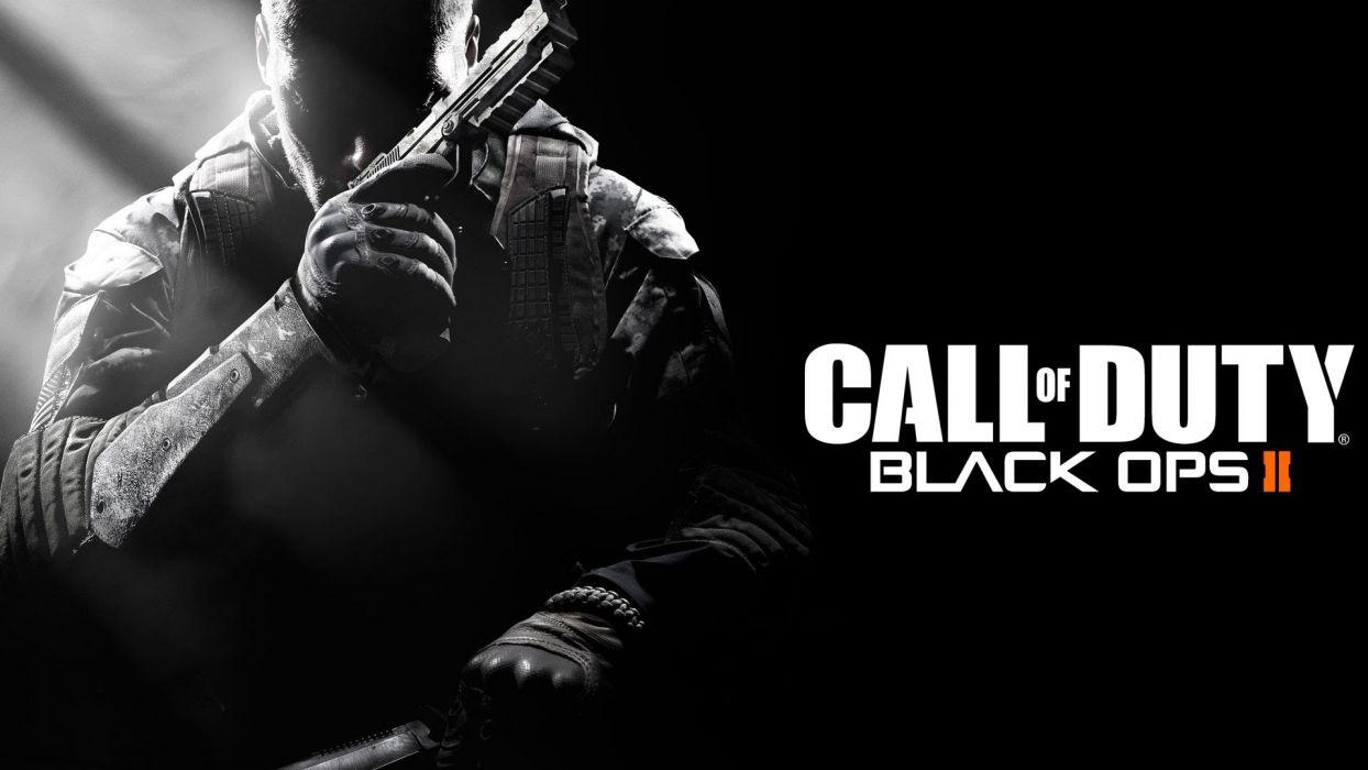 Call of Duty Black Ops 2 warrior soldier weapon gun   f wallpaper