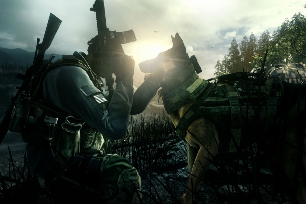 Call Of Duty Ghosts military warrior soldier weapon gun        g wallpaper