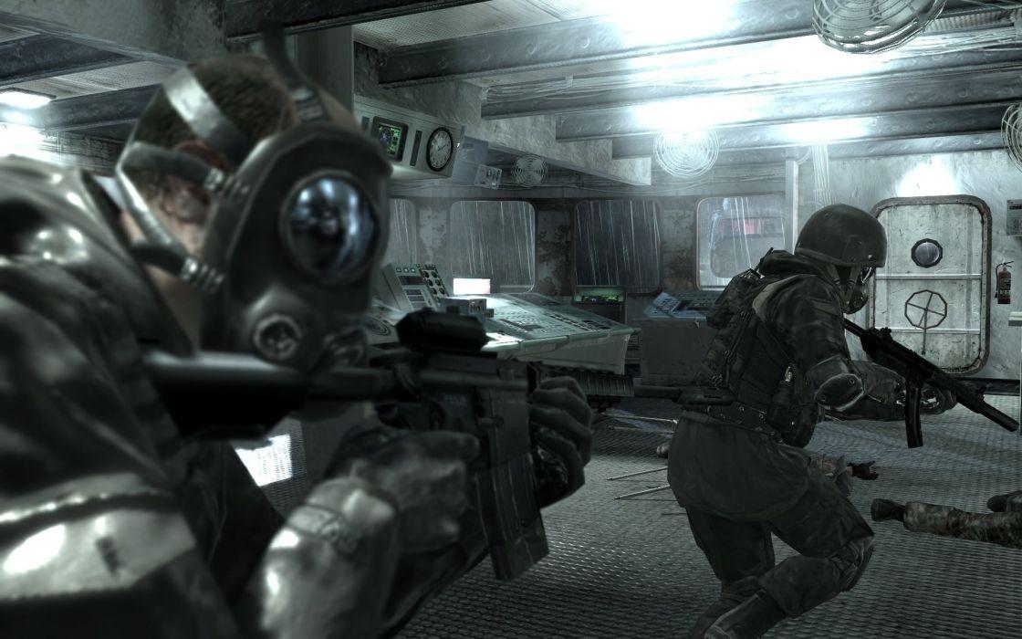 Call of Duty warrior soldier weapon gun      fa wallpaper