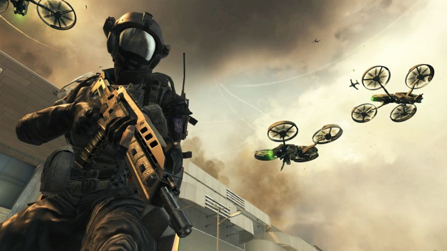 Call of Duty warrior soldier weapon gun fe wallpaper
