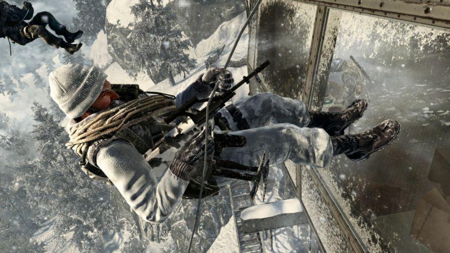 Call of Duty warrior soldier weapon gun d wallpaper