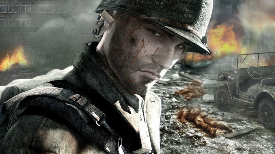 Call of Duty warrior soldier weapon gun fi wallpaper