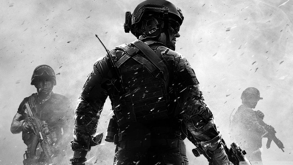 Call of Duty warrior soldier weapon gun   r wallpaper