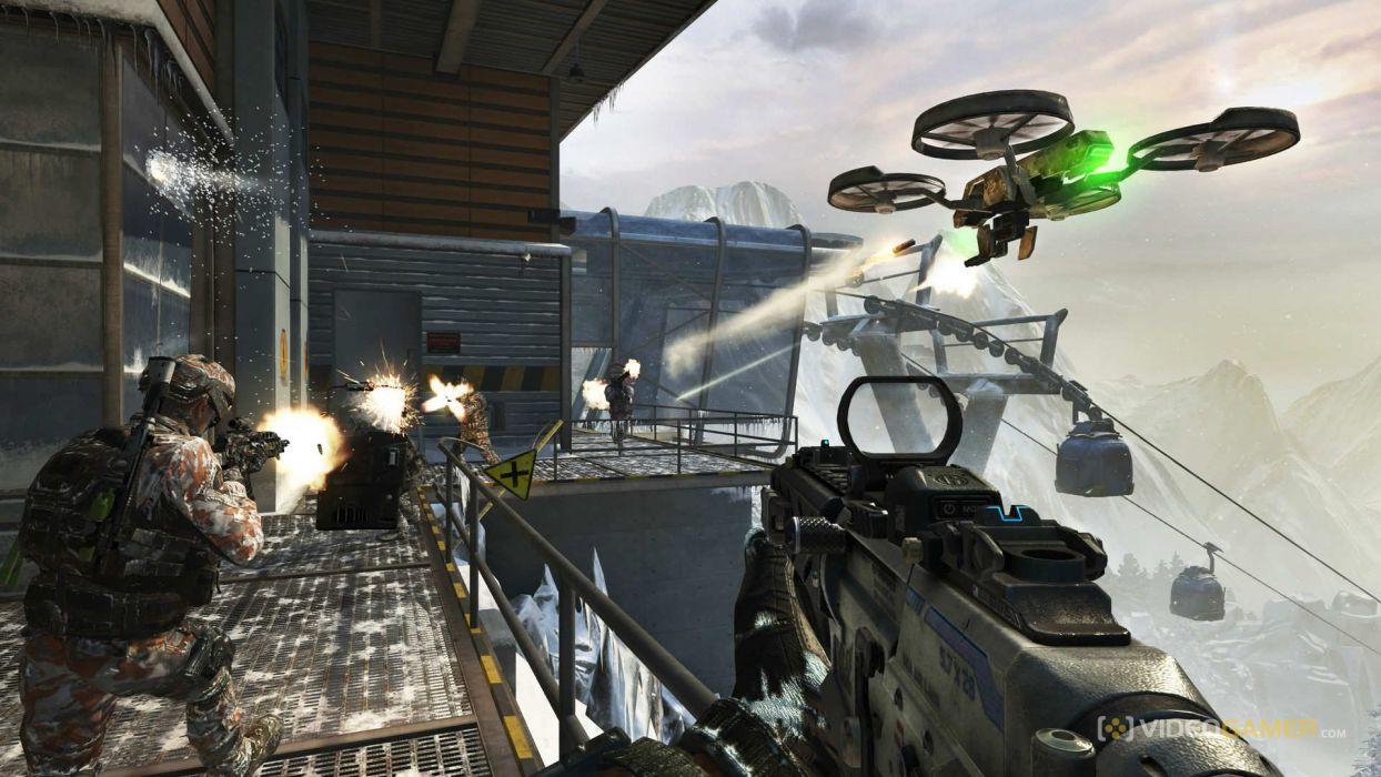 Call of Duty warrior soldier weapon gun battle    fw wallpaper
