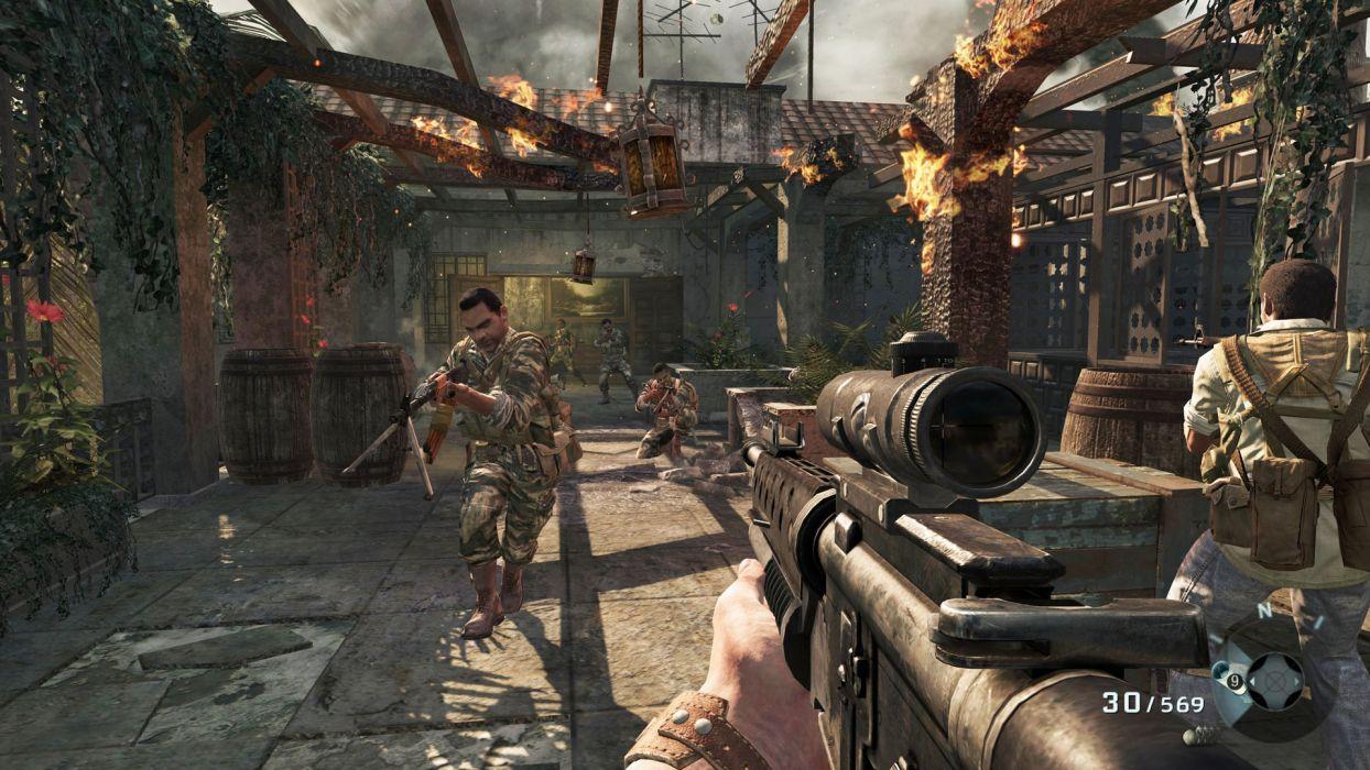 Call of Duty warrior soldier weapon gun battle   g wallpaper